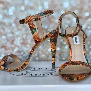 Steve Madden Strap heels- Carmelina- NIB